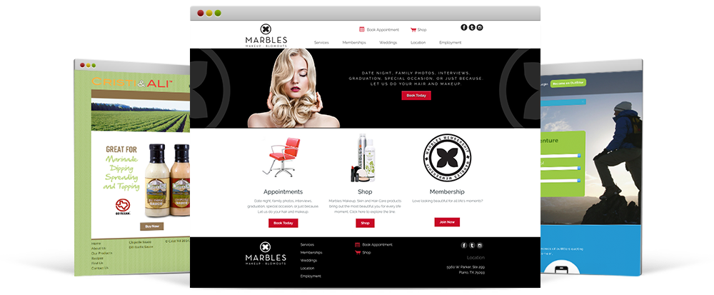 Website design for new and small business Oklahoma City